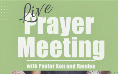 Wednesday Prayer meeting with Pastor Ken