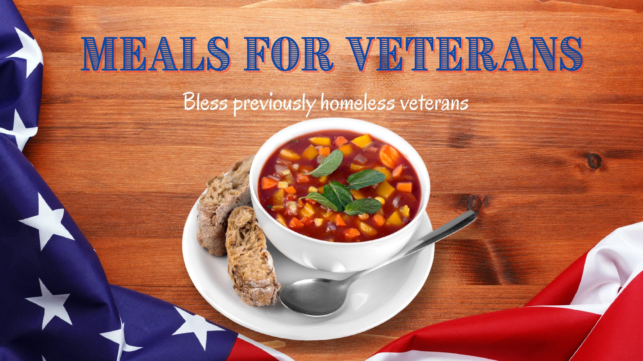 Meal for Veterans